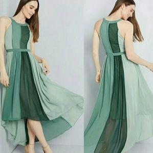 Modcloth Beautiful Green Dress